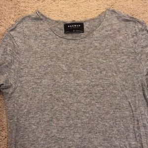 Pacsun medium grey T-shirt